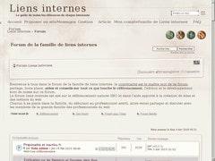 liens internes annuaire
